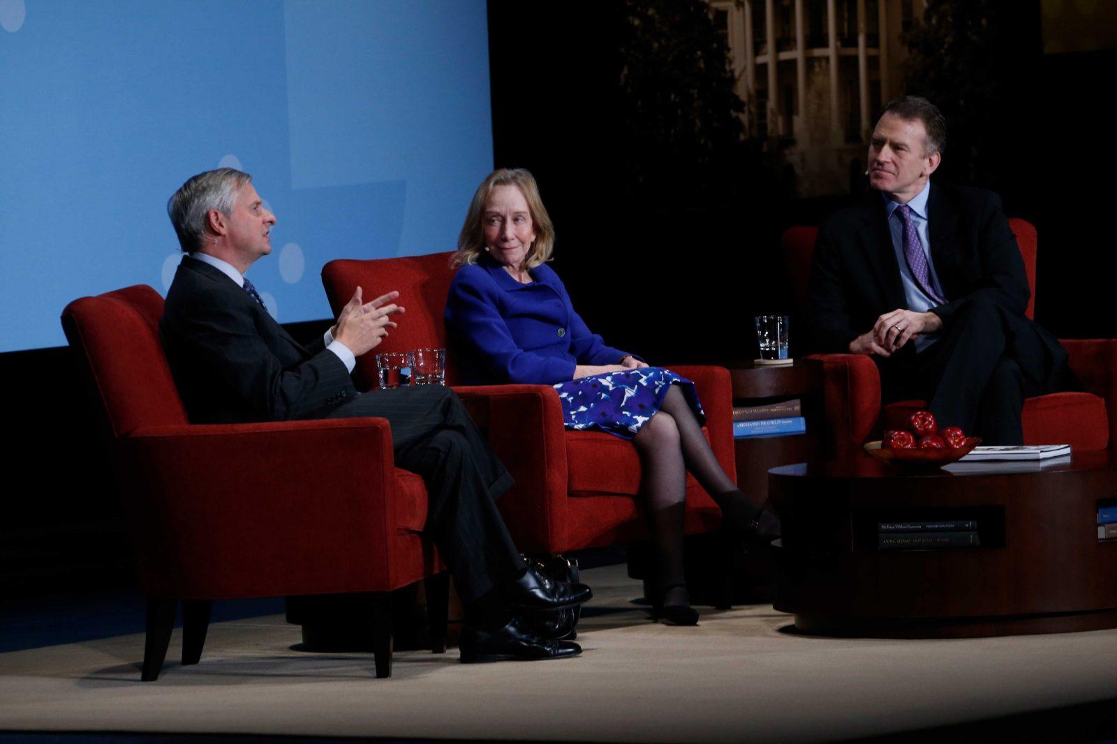 Jon Meacham & Doris Kearns Goodwin at The Richmond Forum