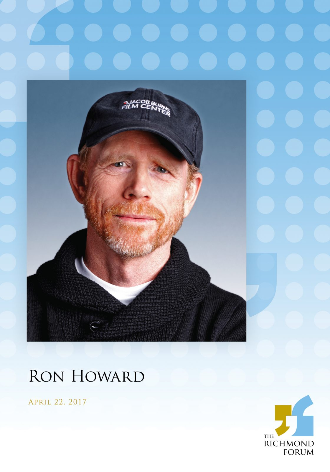 ron howard at the richmond forum
