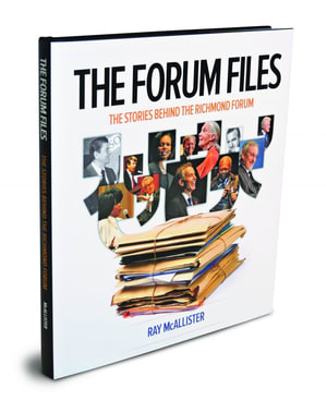 The forum files the richmond forum for our 30th season award winning author ray mcallister rummaged through decades of forum files and artifacts scoured meeting minutes solutioingenieria Choice Image